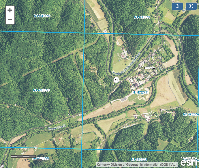 Kentucky Geospatial Data Clearinghouse, KYFromAbove