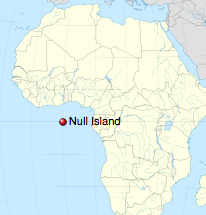 Where is Null Island?